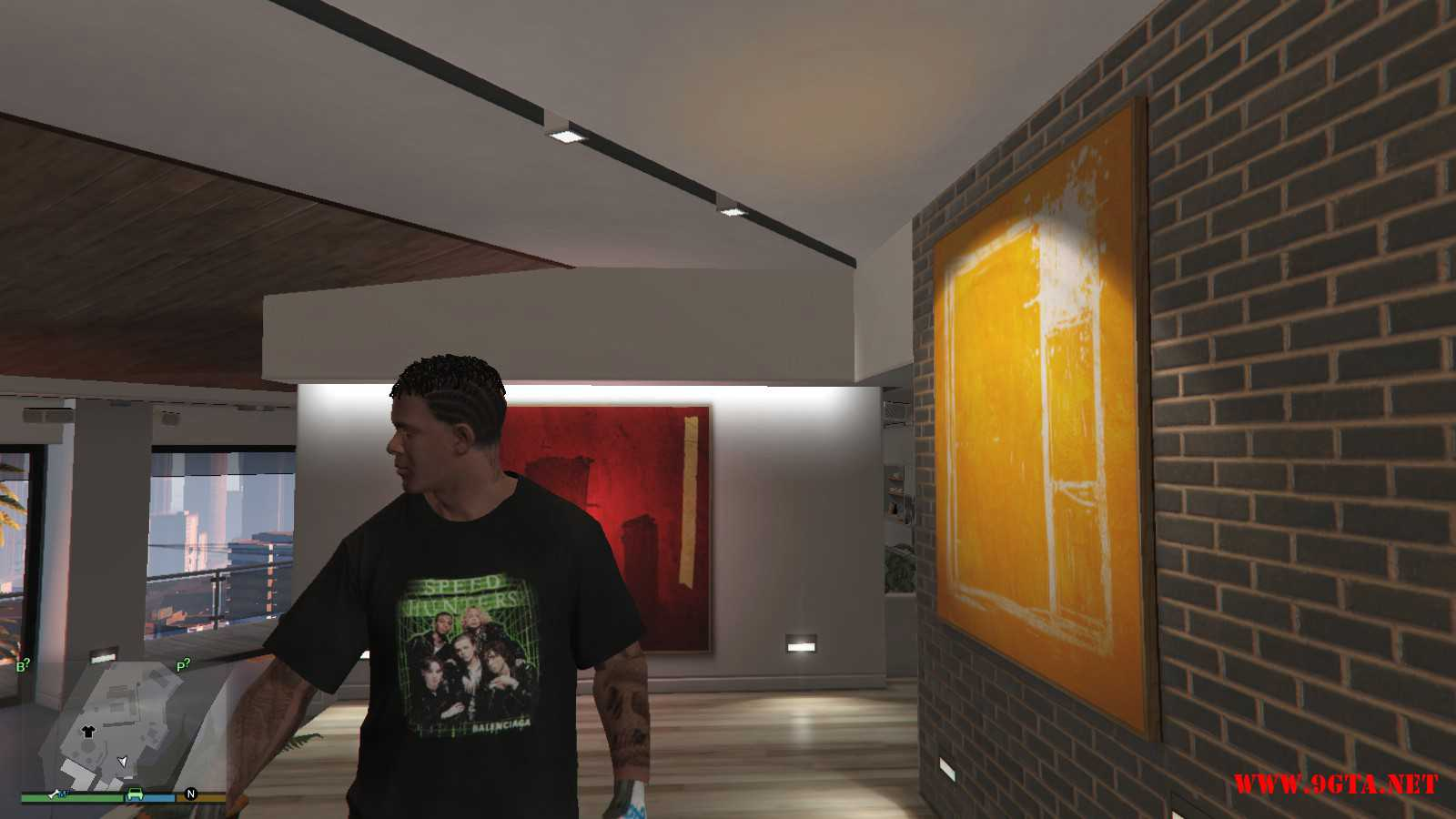 Balenciaga Speedhunter Final T-Shirt GTA5 Mods (1)