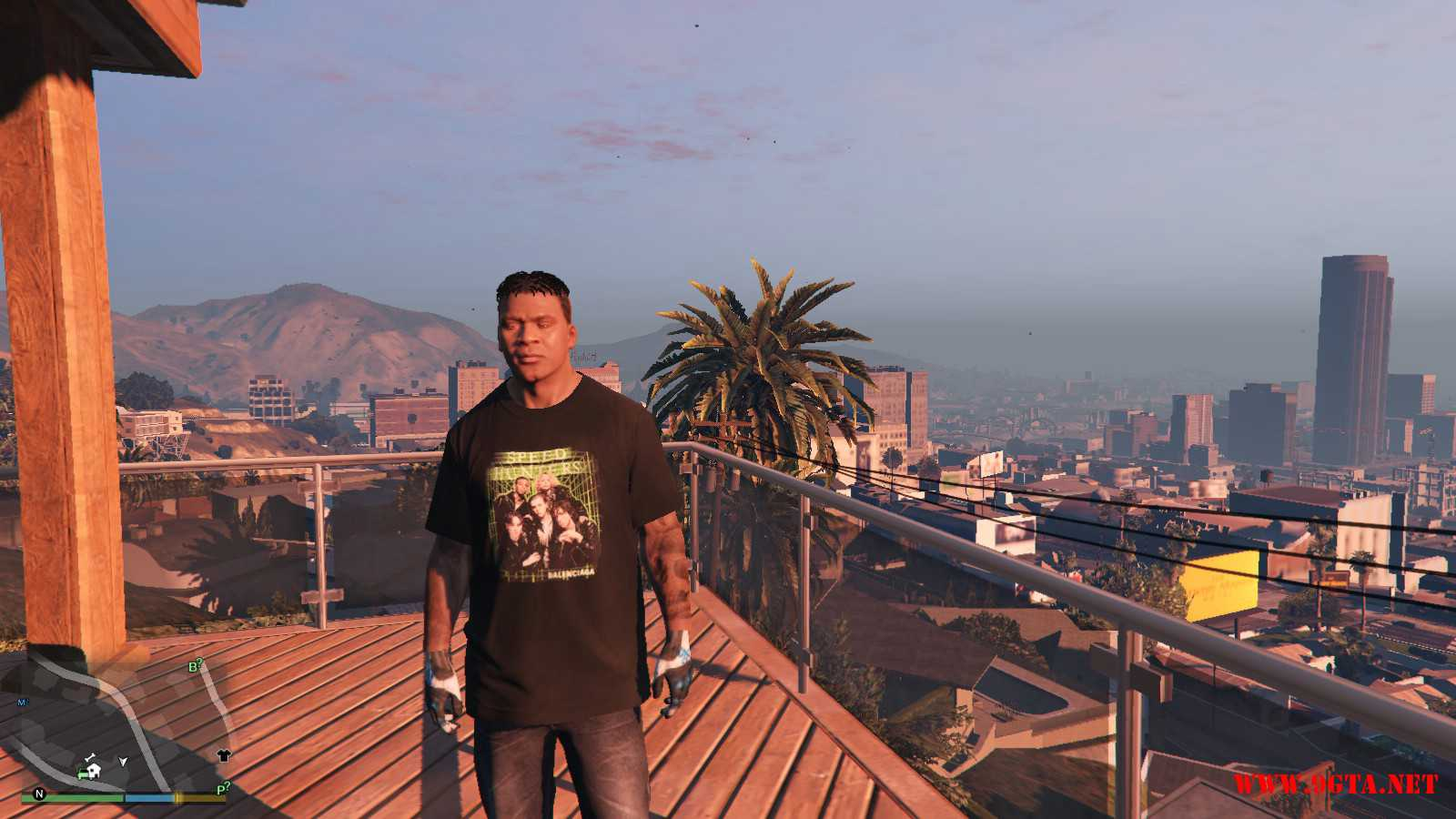 Balenciaga Speedhunter Final T-Shirt GTA5 Mods (6)