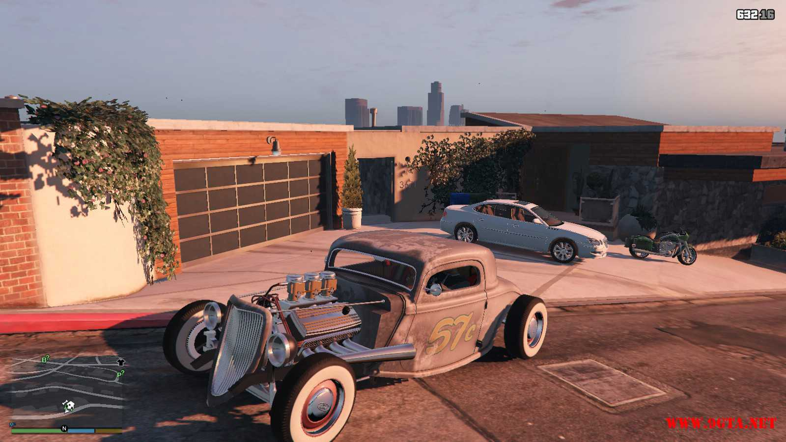 Ford Hot-Rat Rod '34 GTA5 Mods (1)
