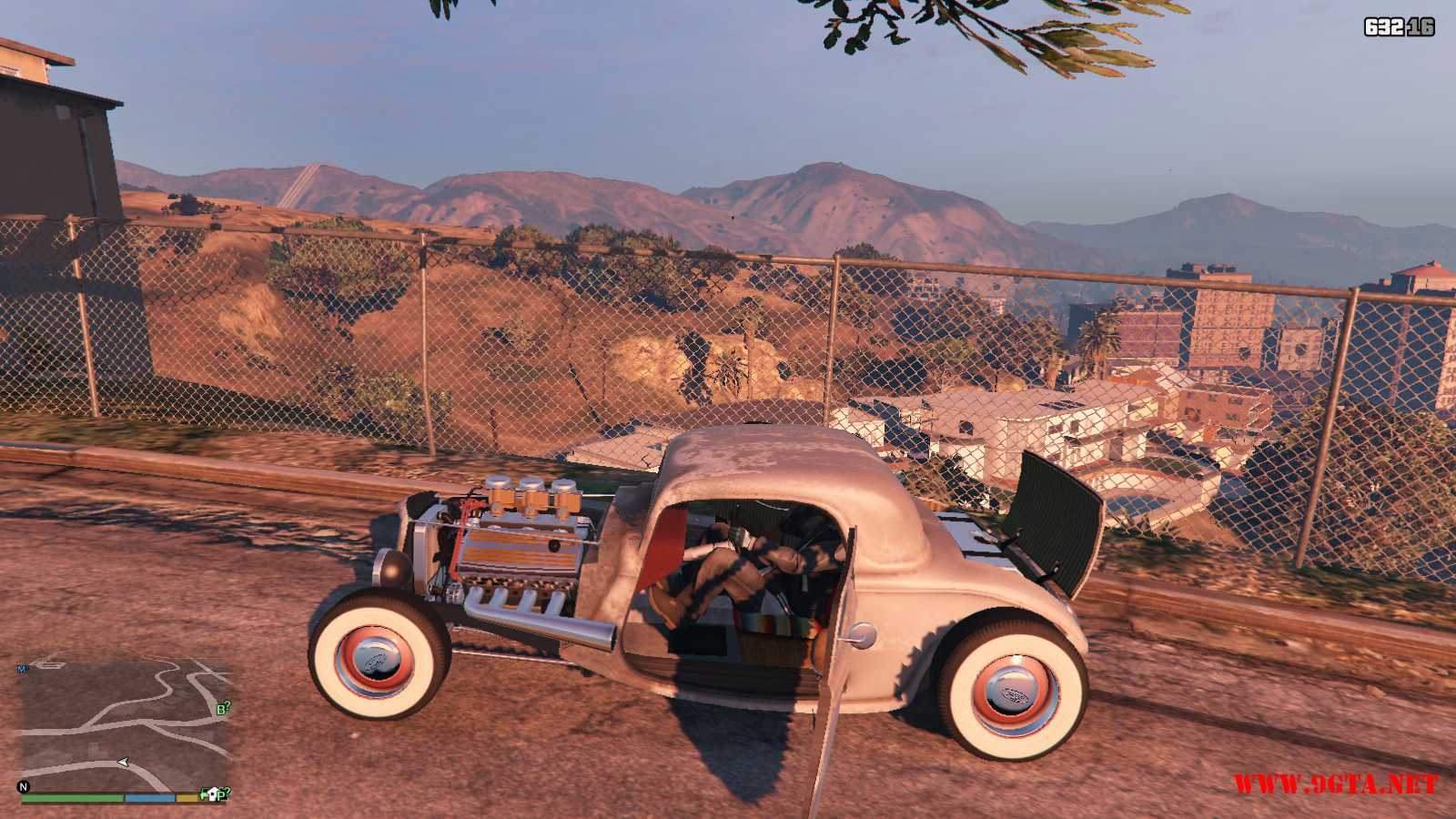 Ford Hot-Rat Rod '34 GTA5 Mods (10)