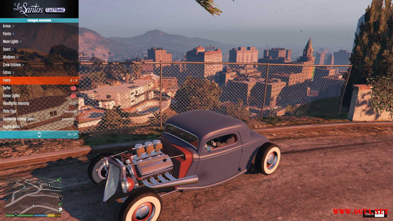 Ford Hot-Rat Rod '34 GTA5 Mods (12)