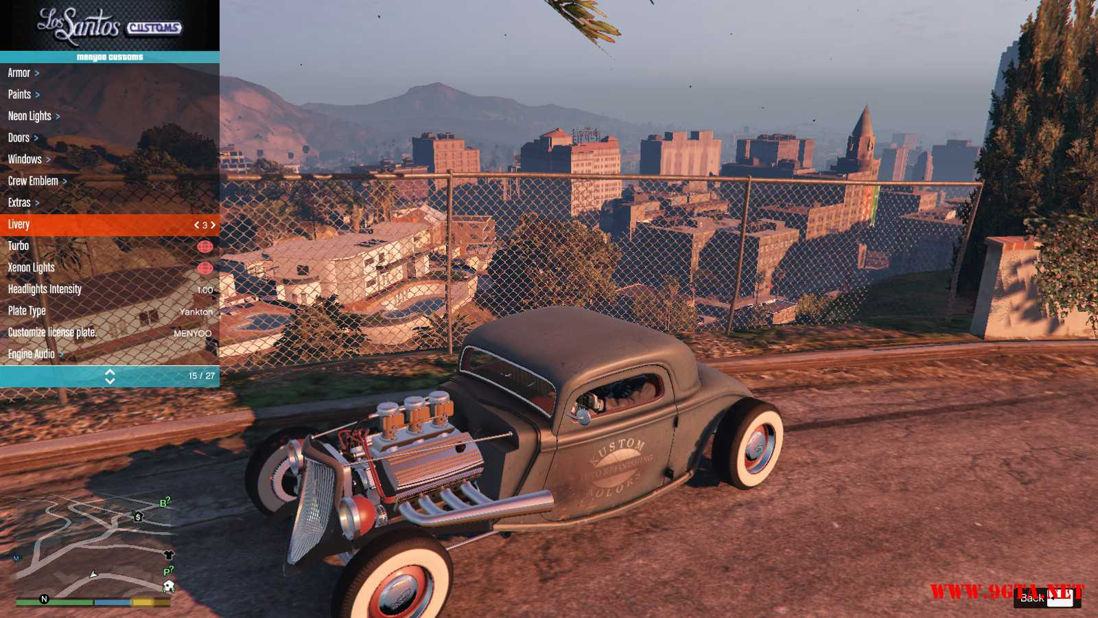 Ford Hot-Rat Rod '34 GTA5 Mods (14)