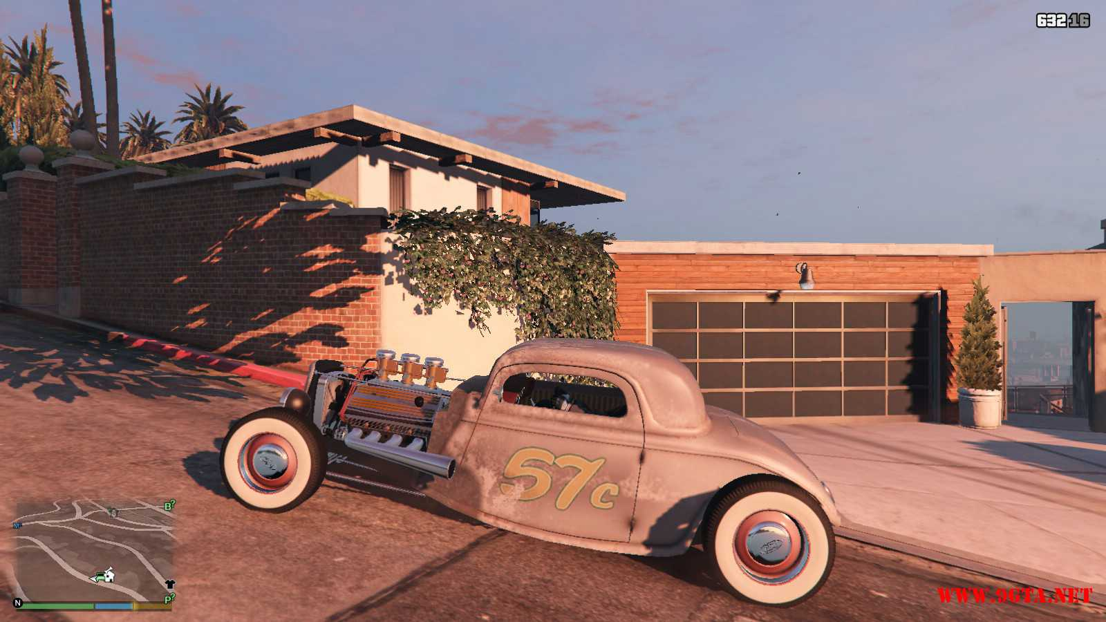 Ford Hot-Rat Rod '34 GTA5 Mods (2)