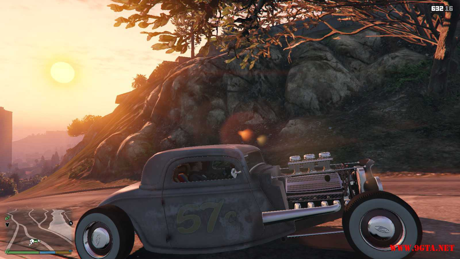 Ford Hot-Rat Rod '34 GTA5 Mods (4)
